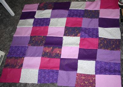 Quilt block strips